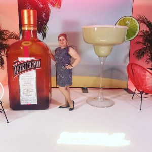 Me with a huge bottle of Cointreau