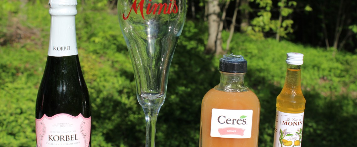 National Mimosa Day with Mimi's and Korbel