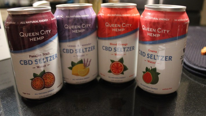 Queen City Hemp CBD Seltzers