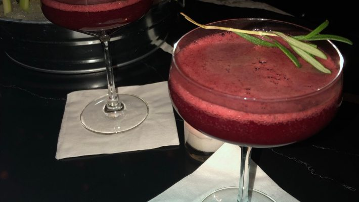 Yummy blackberry cocktails!