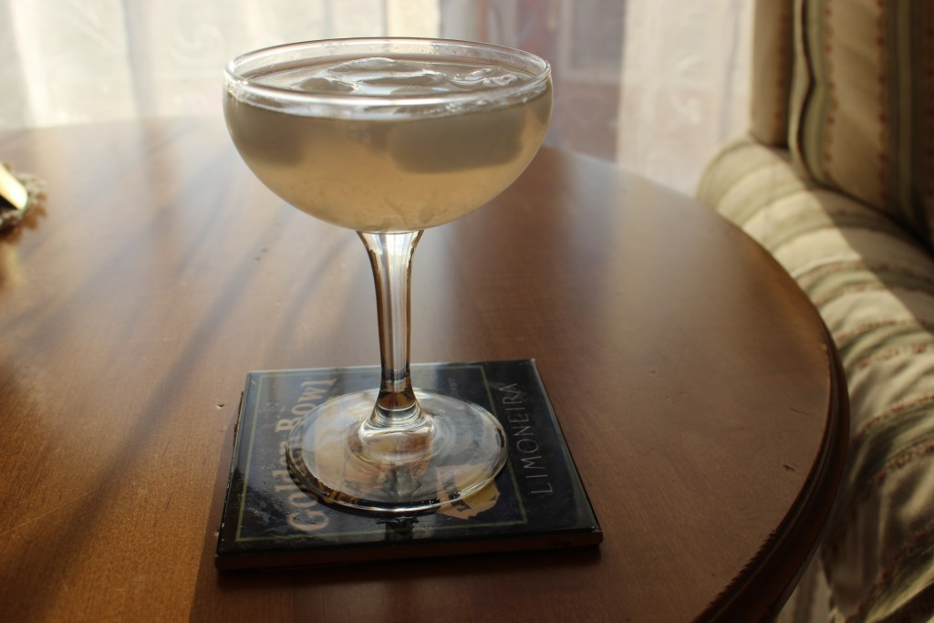 The Curious Jackalope Cocktail in the Sun