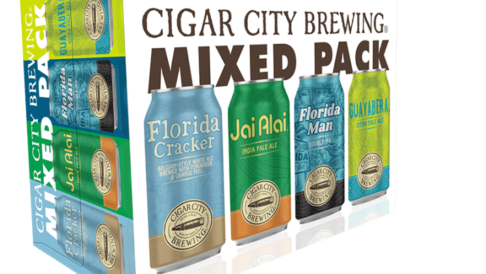 Florida Man Double IPA Joins Cigar City Brewing's Mixed Pack