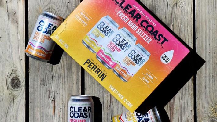 Perrin's Clear Coast Seasonal Variety Pack Presents Three Invigorating New Flavors