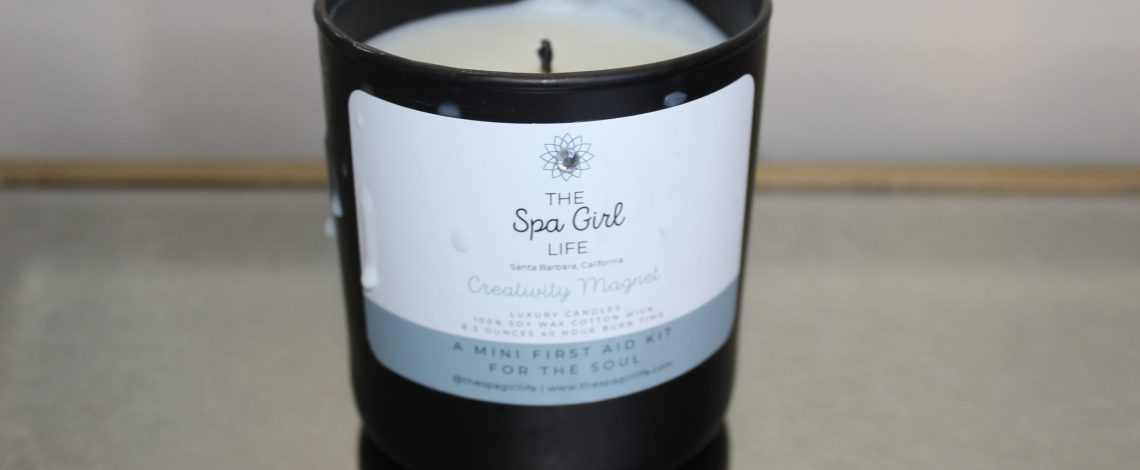 The Spa Girl Life Candle