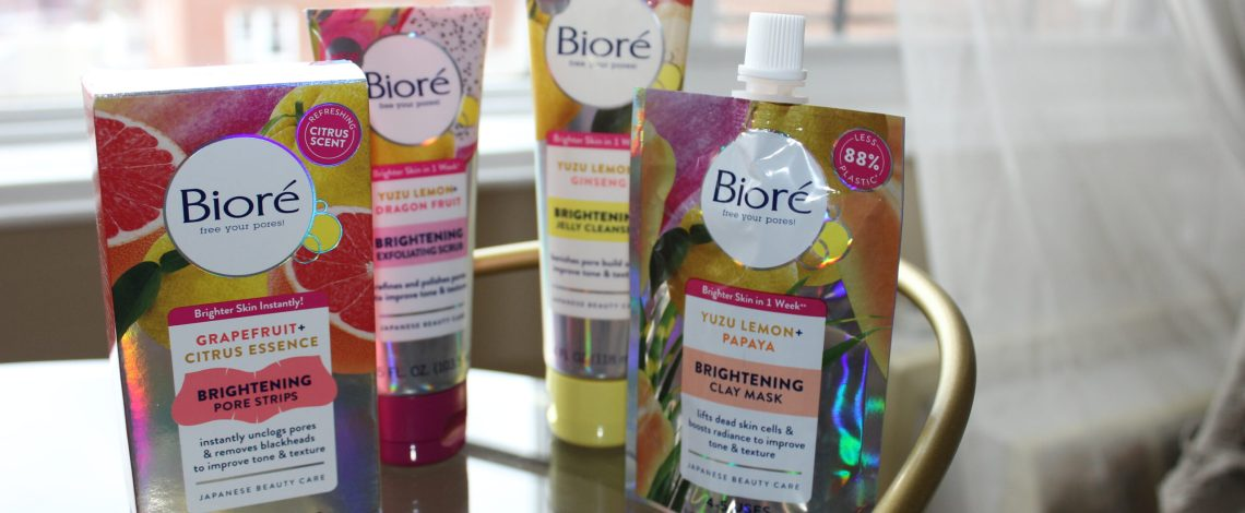 The Bioré Brightening collection