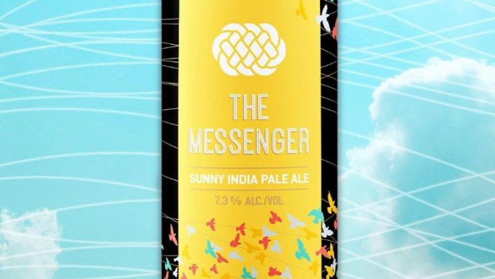 The Messenger Sunny IPA Returns to Three Weavers Brewing Company