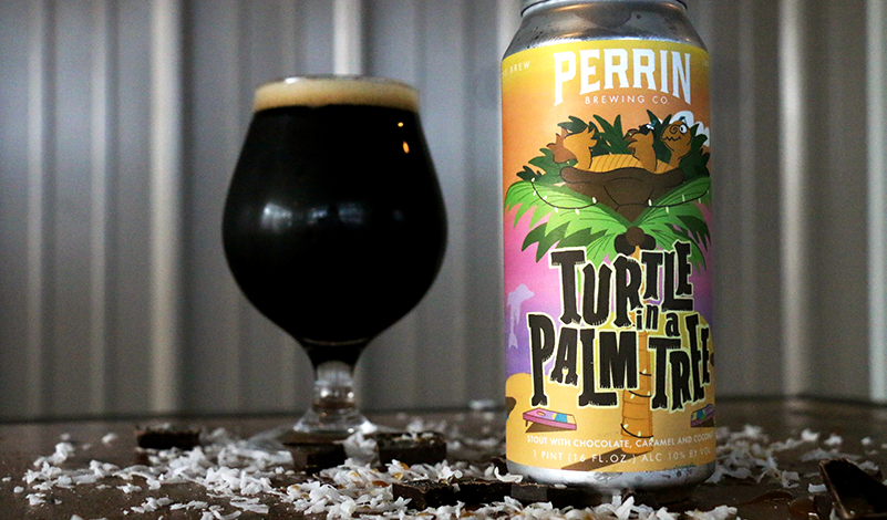Perrin Brewing Company Introduces Limited Release Turtle in a Palm Tree