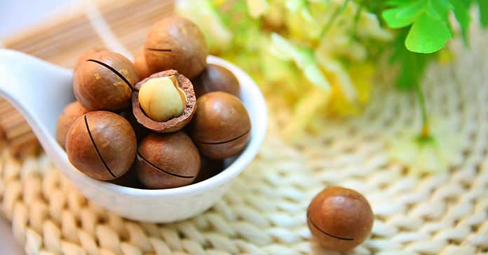Natural beauty makeup tips with macadamia oil