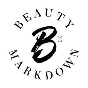 beauty markdown watermark logo