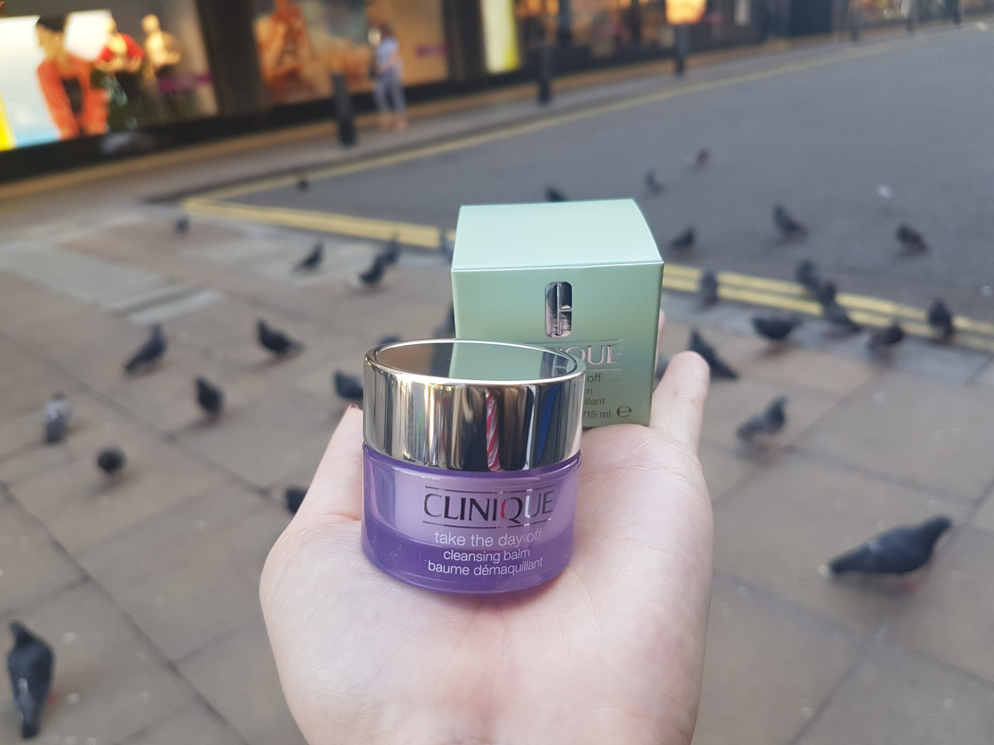 Free Clinique take the day off balm