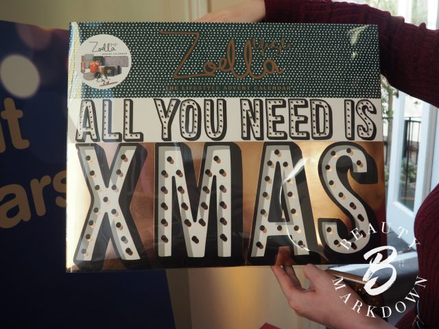 Zoella advent calendar boots beauty 2017