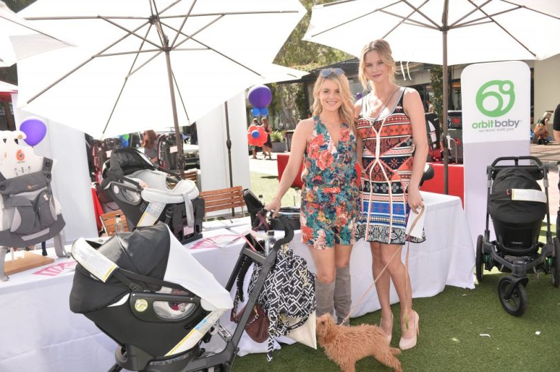 Ali Fetodowski & Meghan King Edmonds attends Step2 & Favored.by Present The 5th Annual Red Carpet Safety Awareness Event on September 24, 2016 in Culver City, California.