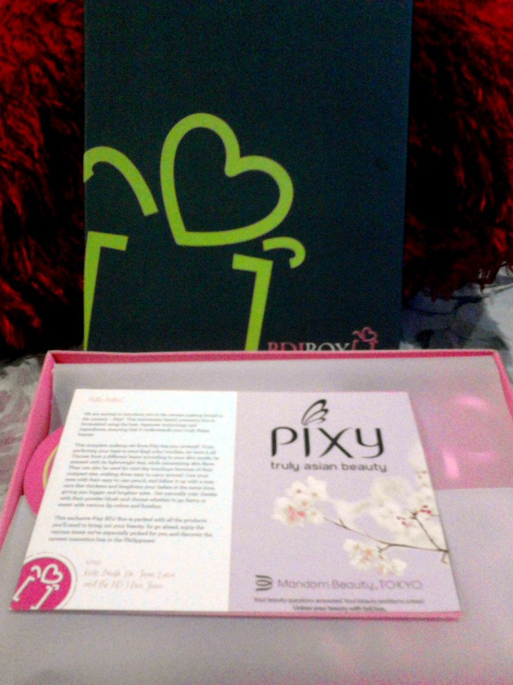 My First BDJBox: Beauty Blossoms (Special Edition Pixy Box) Unboxing (5/6)