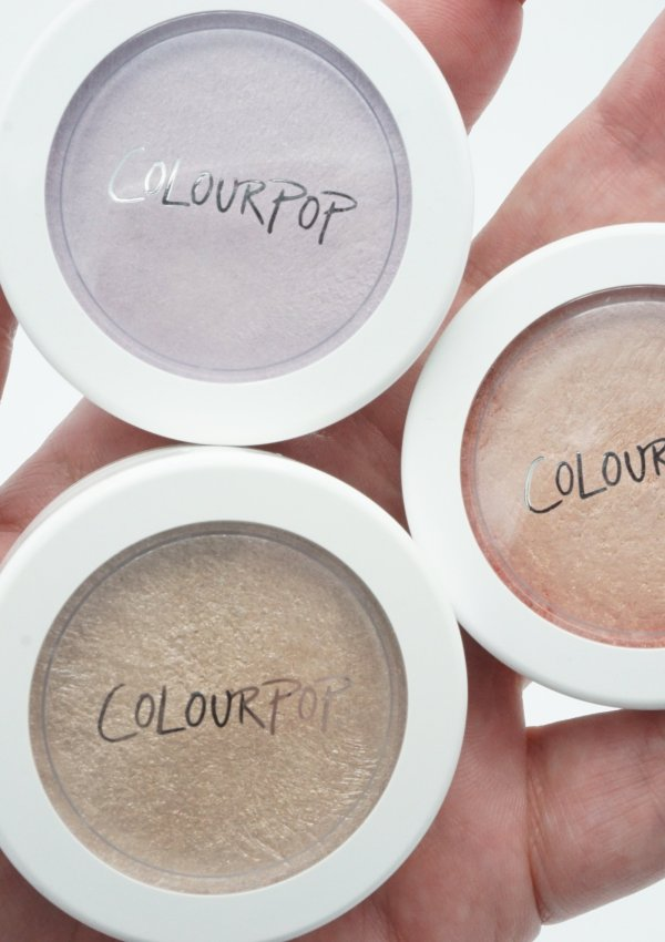 Colourpop Super Shock Highlighters Hippo, Smoke n Whistle and Flexitarian | Review
