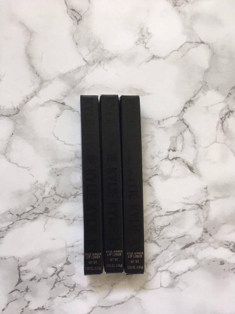 Kylie Cosmetics Sorta Sweet Palette & 3 Lipliners | Review 2