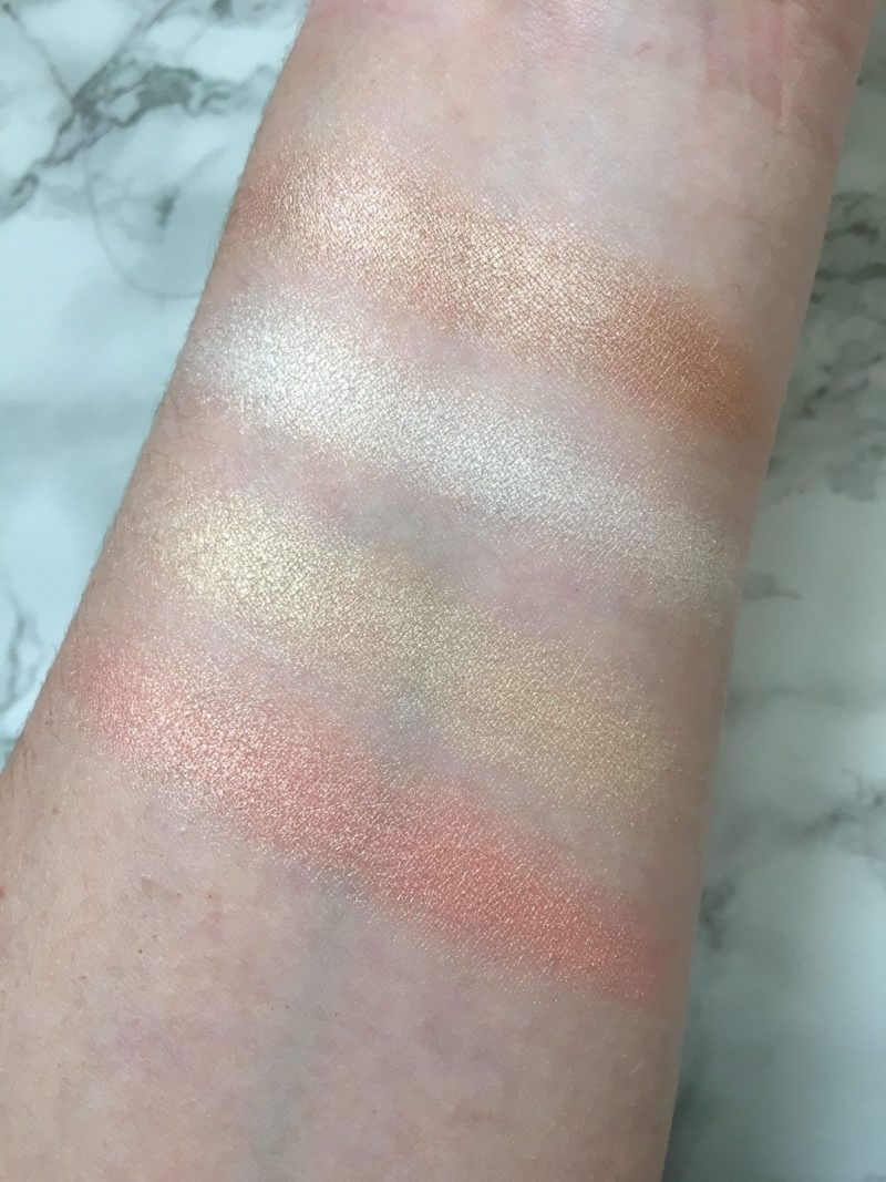 Huda Beauty Highlighter Palette & Eyeshadow Palette | Review 5