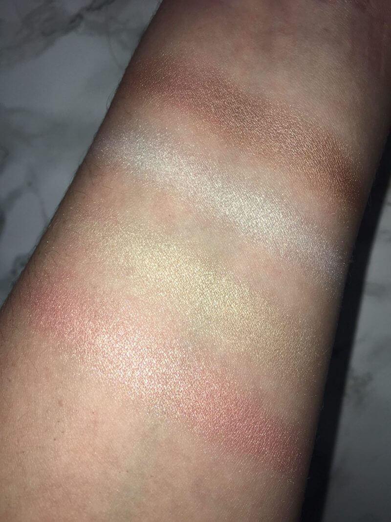 Huda Beauty Highlighter Palette & Eyeshadow Palette | Review 6