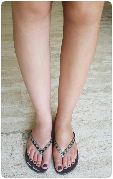 2. La jambe gauche faite