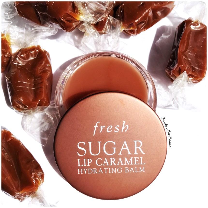 Baume lèvres gourmand au caramel formulation green Fresh Beauty