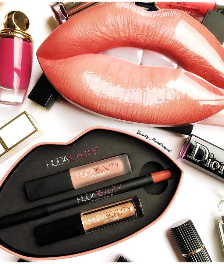 Huda Beauty Lip Set Bombshell & Ritzy