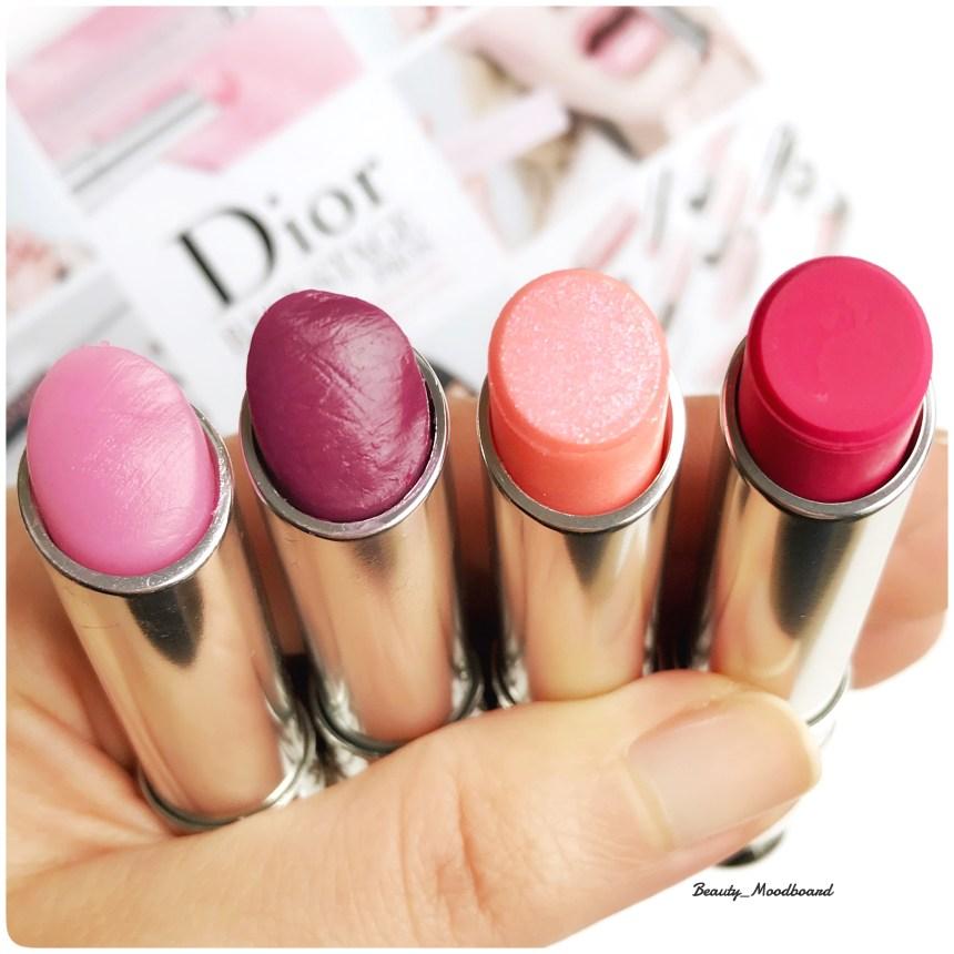 Swatch Dior Backstage baumes lèvres rehausseur de couleur