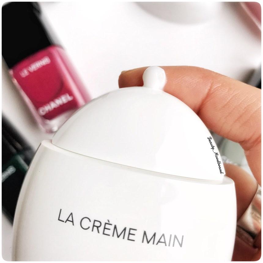 Swatch soin hydratant pour les mains La Crème Main Chanel