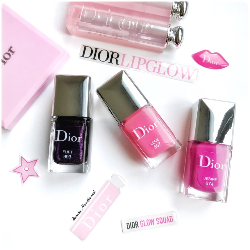 Collection Dior Vernis Glow Addict Printemps 2018