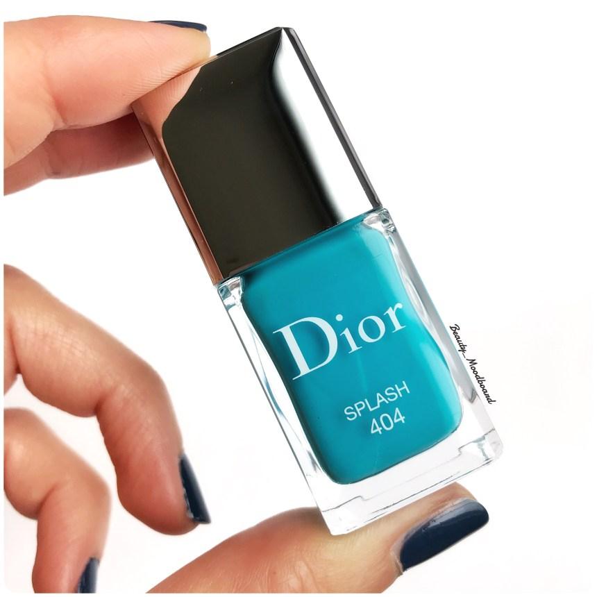 Splash 404 vernis bleu turquoise
