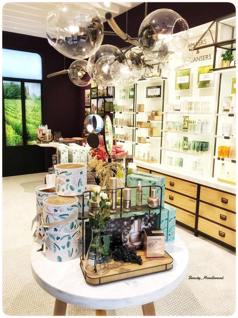 Boutique Caudalie Spa Lyon pour un modelage divin
