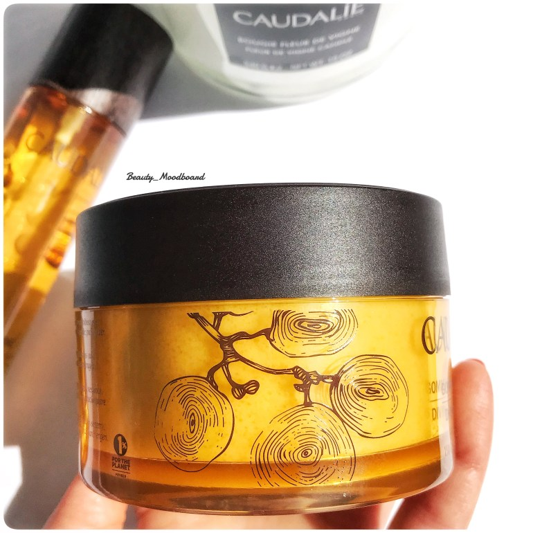 Packaging Caudalie Gommage divin