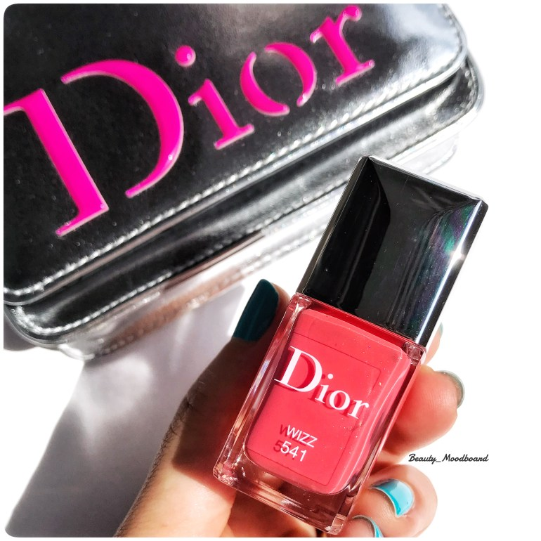 Dior Vernis Wizz 541 Collection Eté 2018 Cool Wave