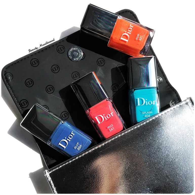 Dior Vernis Eté 2018 Cool Wave Collection