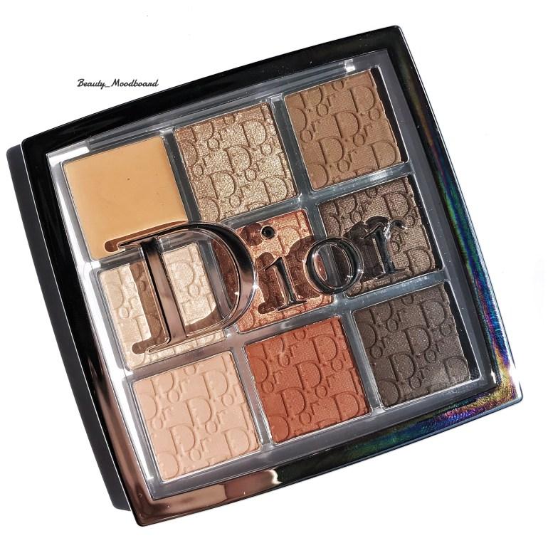 Dior Backstage Eye Palette Warm Neutrals 001