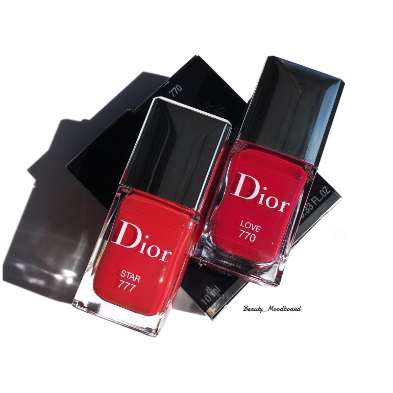 Dior Vernis Rouge Dior Ultra Rouge Collection Star 777 et Love 770