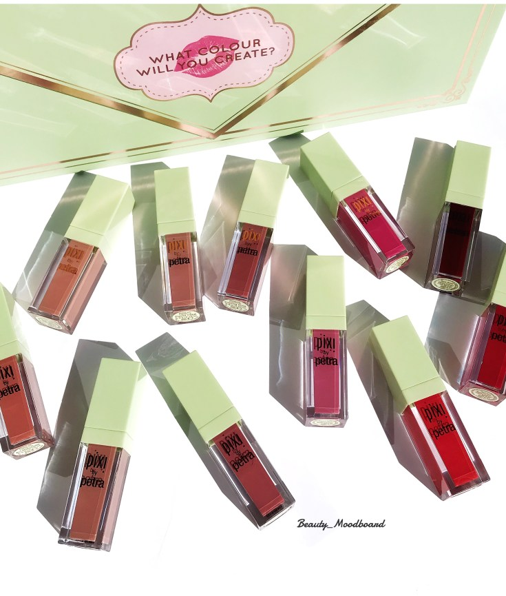 Pixi Beauty Lipsiticks