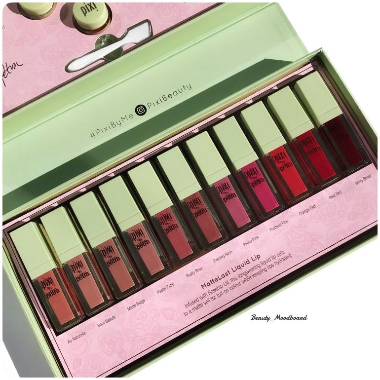 11 teintes MatteLast Liquid Lip Pixi By Petra