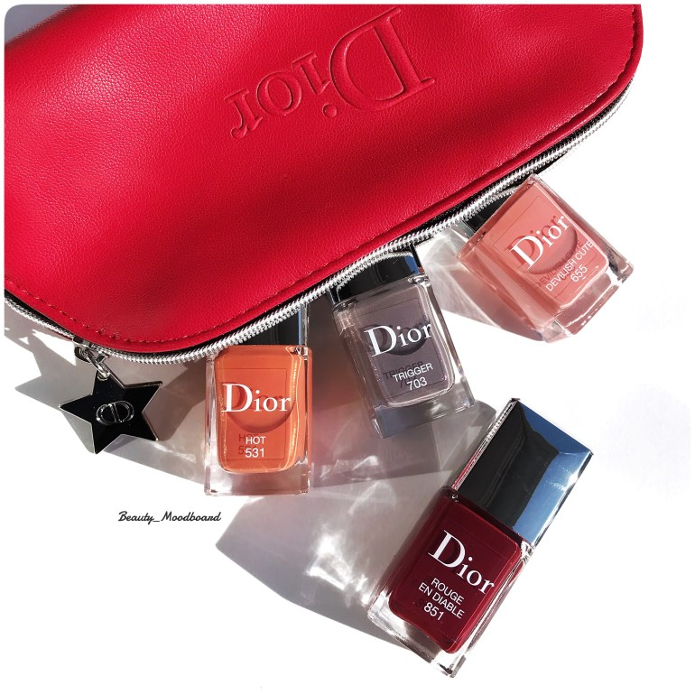 Dior Vernis Dior en Diable Collection Automne 2018