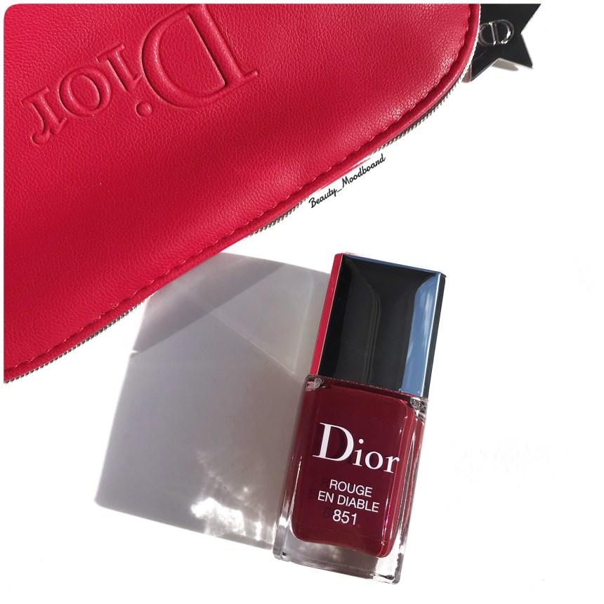 Vernis Dior Rouge en Diable 851