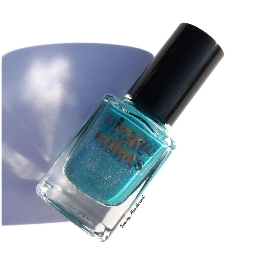 Vernis Lucid Dream couleur bleu vert shimmers violet