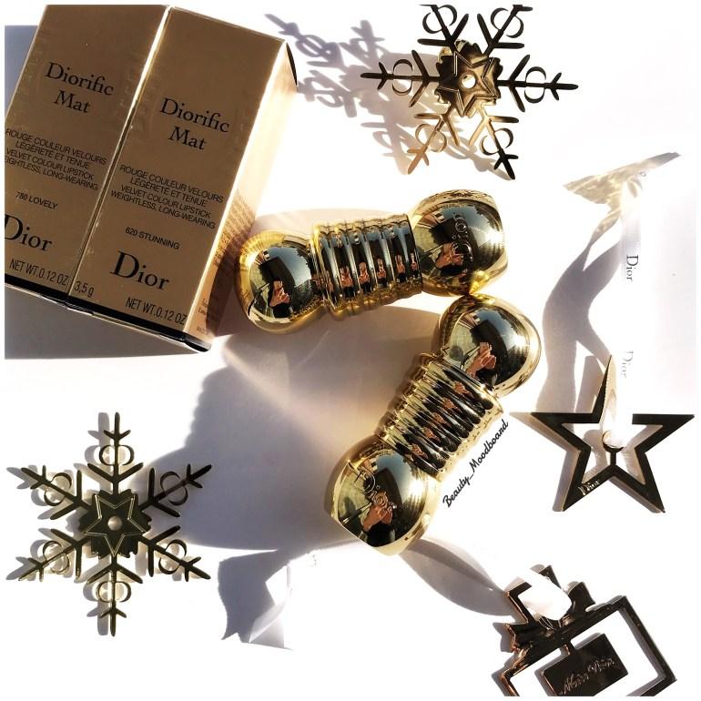 Diorific Mat Dior Holiday Look 2018 Midnight Wish