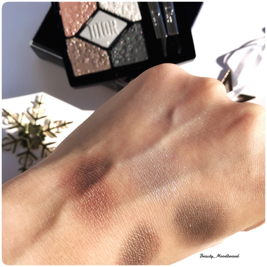 Palette Dior 5 Couleurs Moonlight 057 swatches