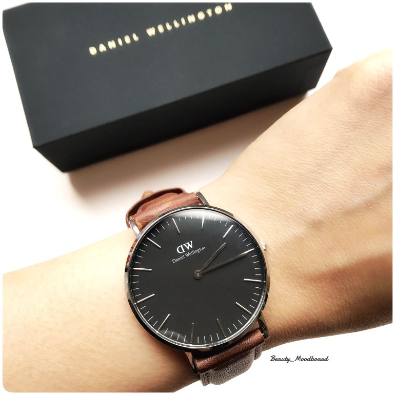 Modèle Classic Roselyn avec le bracelet Durham 36mm cadran noir silver