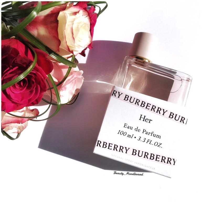 Burberry Her Eau de parfum beauty horoscope chinois de l'année 2019