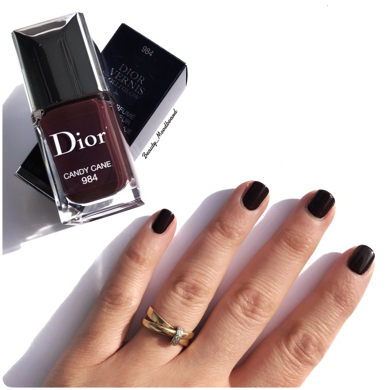 Dior Vernis Lolli'Glow Spring Look 2019 Candy Cane 984
