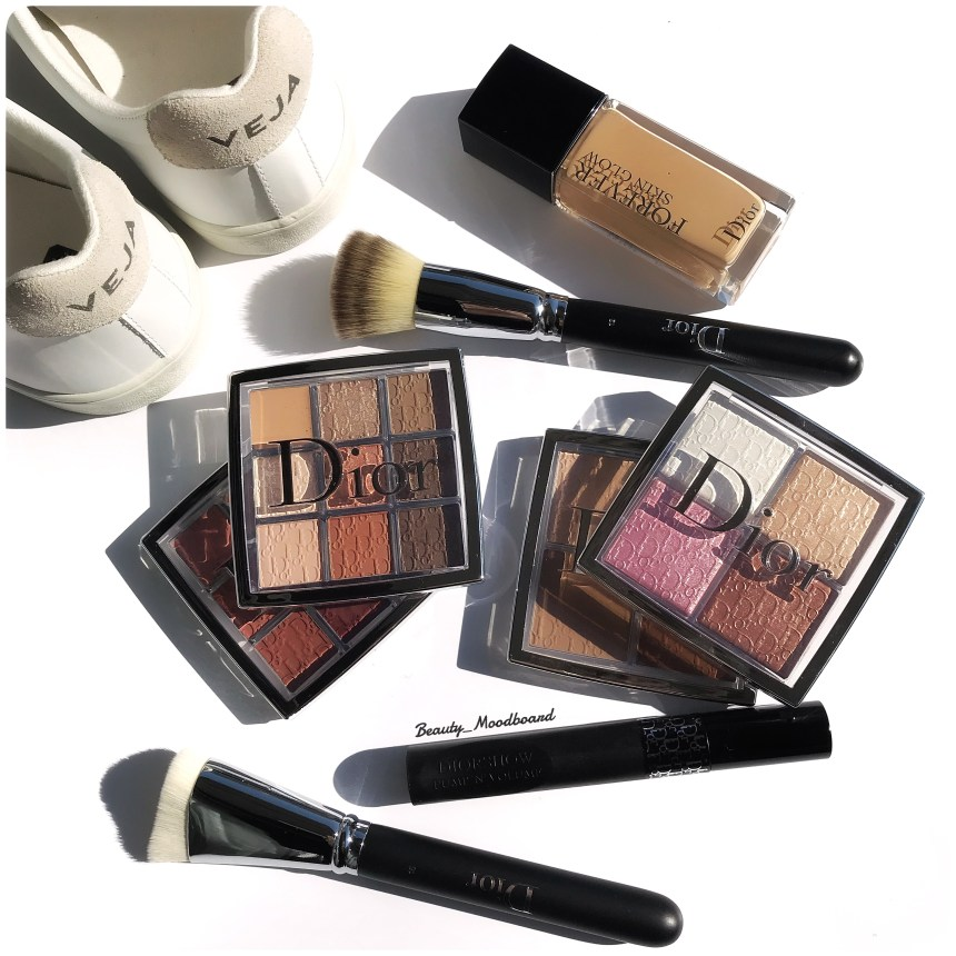 Dior Backstage Makeup Collection Glow Face Palette pinceaux Dior Fond de teint Dior Forever Skin Glow