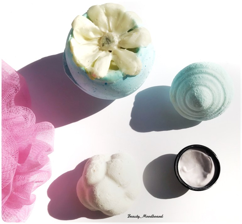 Lush Bath & Shower Bombs soin corps tendance less is more