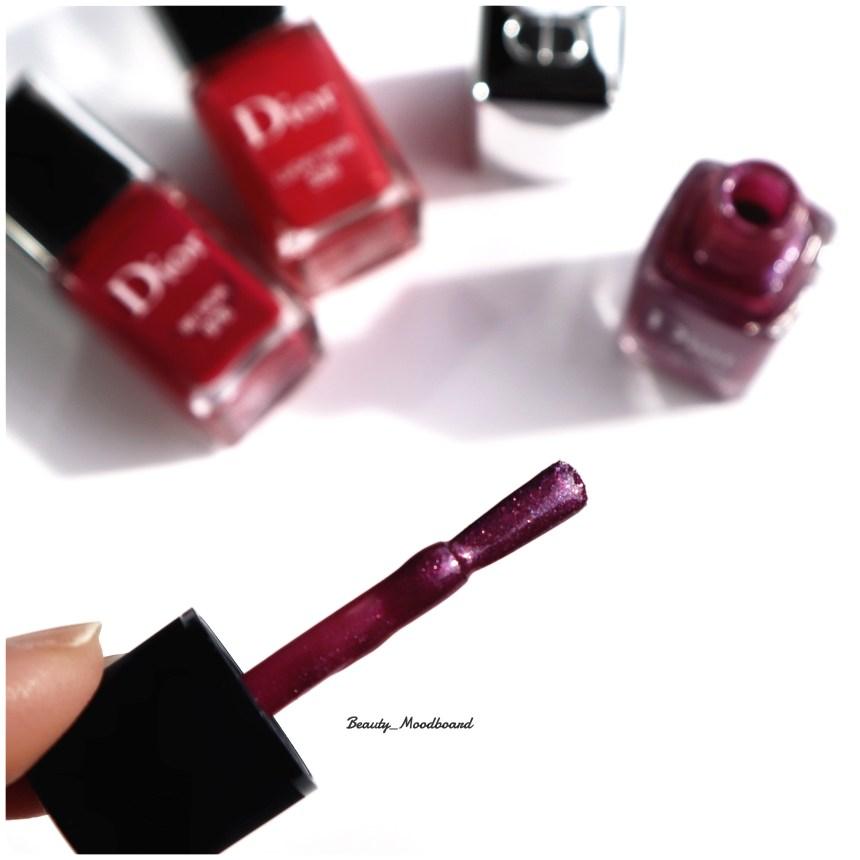 Pinceau Dior Vernis zoom sur les micro shimmers