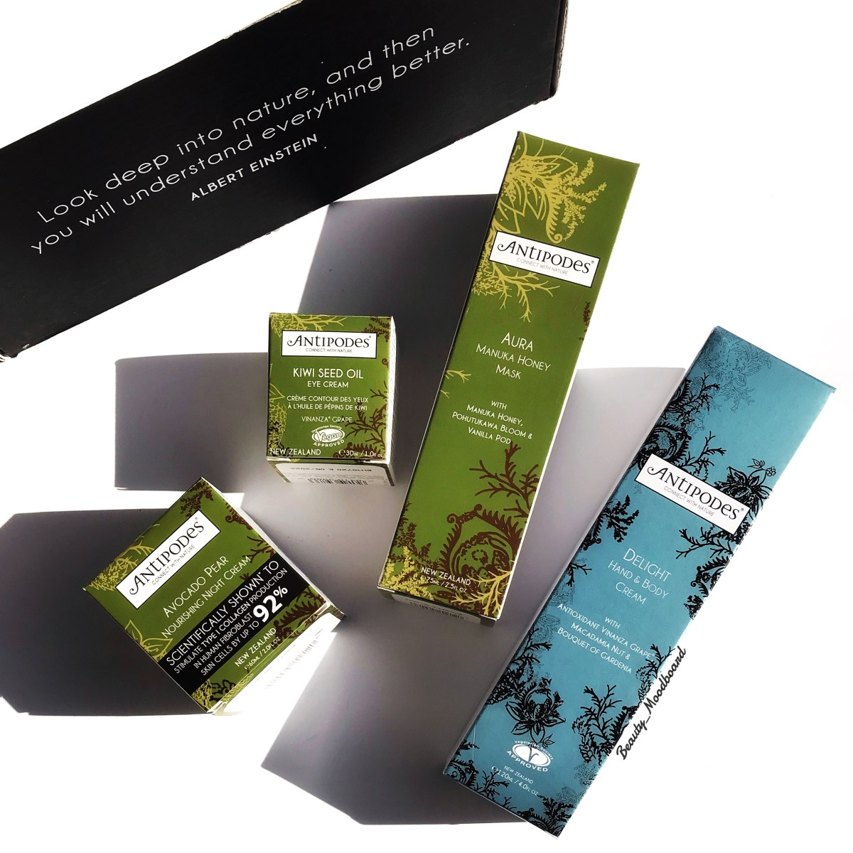 Antipodes Skincare #connectwithnature !