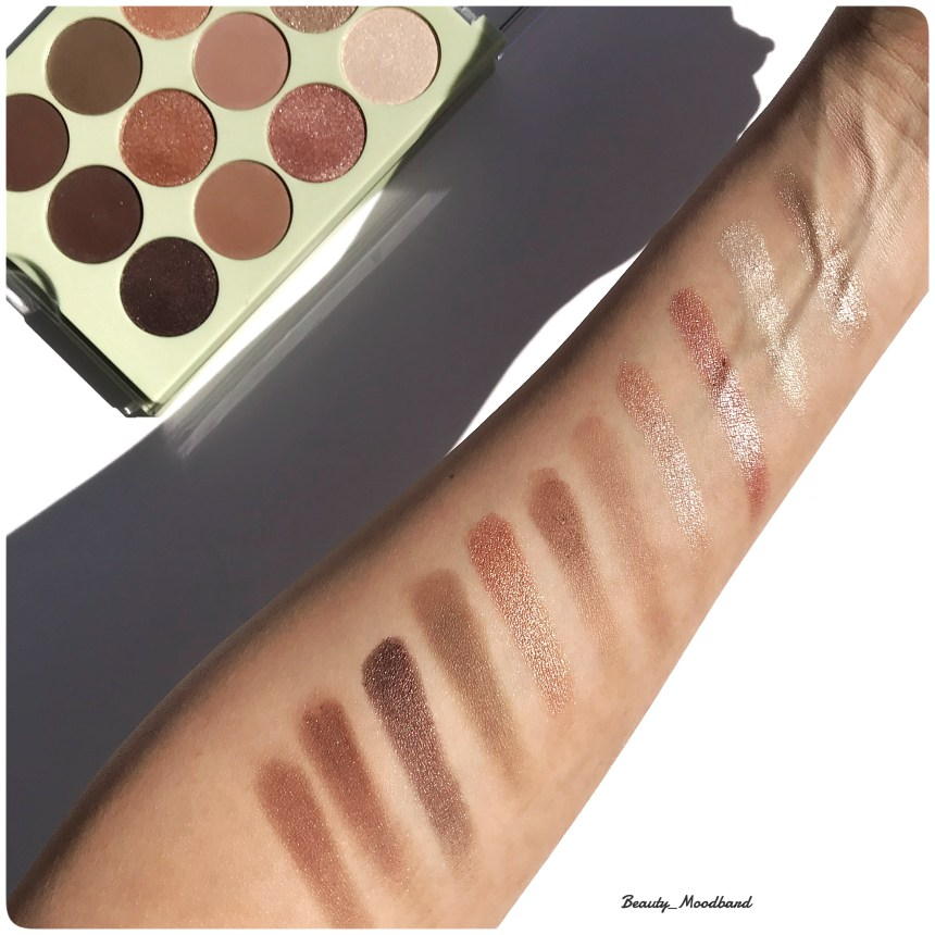 Swatch Pixi Palette Natural Beauty