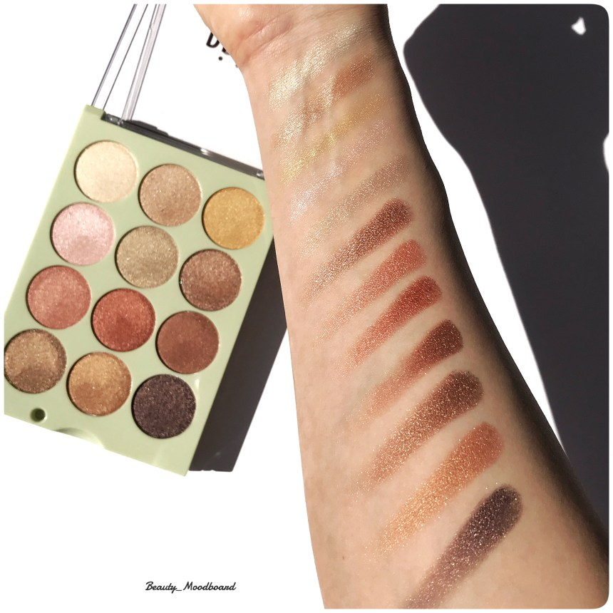 Swatch Palette Reflex Light Pixi By Petra